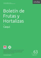 Boletín de Frutas y Hortalizas del Convenio INTA- CMCBA Nº 63 - Caqui