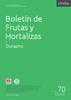 Boletín de Frutas y Hortalizas del Convenio INTA- CMCBA Nº 70