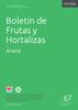 Boletín de Frutas y Hortalizas del Convenio INTA- CMCBA Nº 67 - Ananá